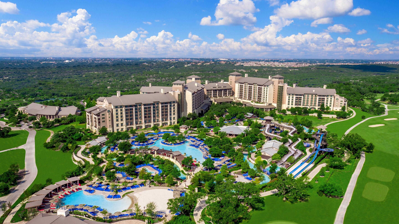 Aerial view of JW Marriott San Antonio